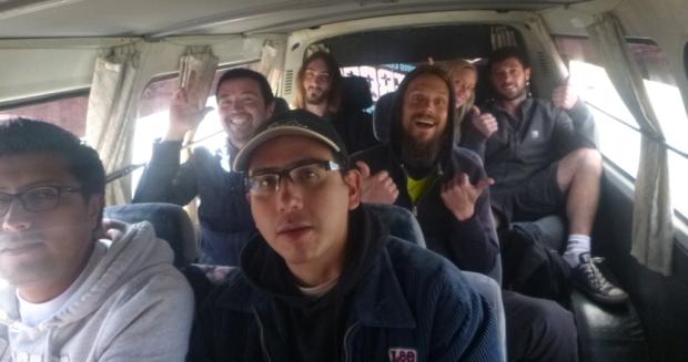 L'équipe de la Route de la Mort