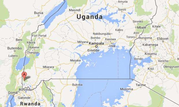 Map Bwindi
