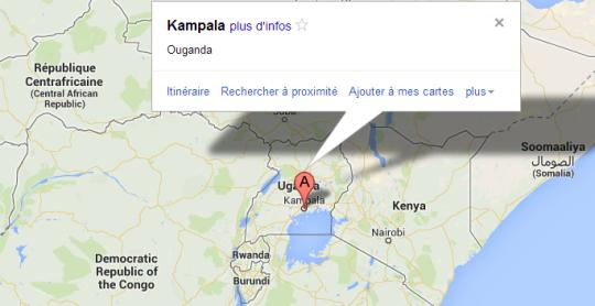 Map Kampala