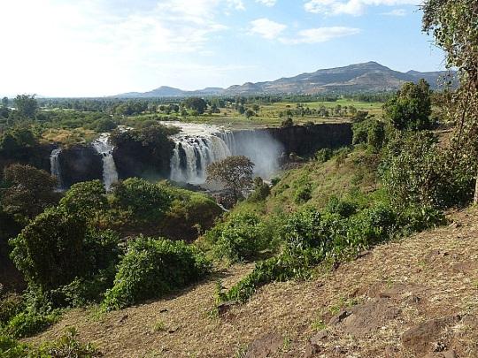 Cascades du Nil Bleu